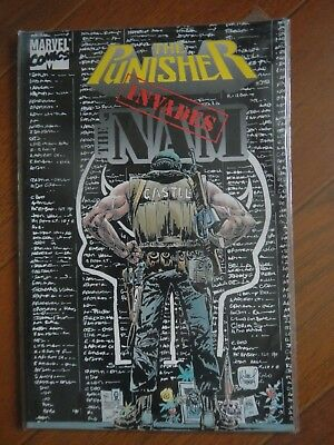 The Punisher invades Nam - Marvel Comics very good condition to Near mint.