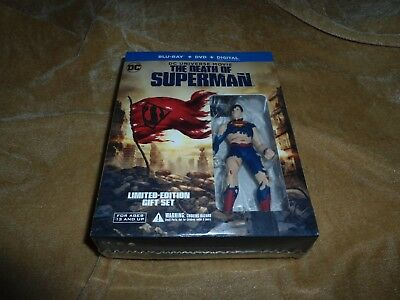 The Death of Superman (2018): Limited Edition Gift Set [Blu-ray+DVD+Digital HD]