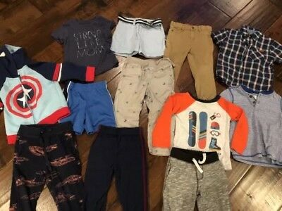 Lot Toddler Boy 2t Clothes - Gymboree, Polo, Gap, 7 For All Mankind