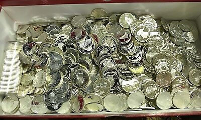 $10 Roll Of (40) Silver Proof Quarters - 90% Silver - Mixed Dates - Forty Coins