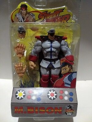 "Street fighter ""M.Bison"" Round 1 Rare figure  (2004) Sota Toys 7""in."