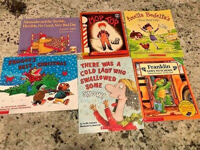 Lot Of 28 Scholastic Kids Books And Classics Excellent