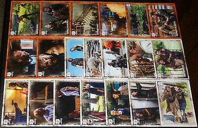 Lot of (45) 2018 Topps THE WALKING DEAD SEASON 8 CARDS w/ RUST PARALLEL CARDS!