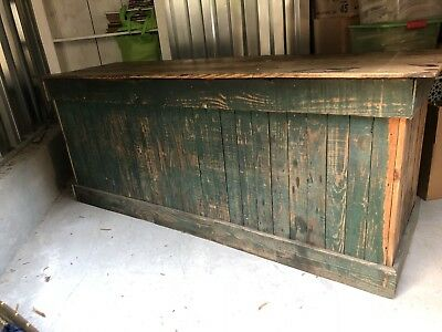 Rare Antique Country Store Counter, General Store, NC, Primitive, Kitchen Island