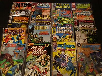 Lot of 20 Comics -Two-Face, New Wave, Captain America,ETC. (H3)