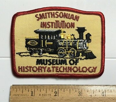 Smithsonian Institution Museum of History & Technology Steam Engine Train Patch