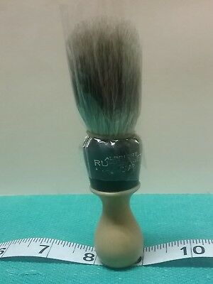 """AN OLD VINTAGE """"ALBRIGHT"""" RUBBERSET"""" SHAVING HANDLE with 100% PURE BADGER BRUSH"""
