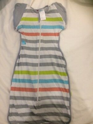Love to Dream Sleep Swaddle 5-8Kg summer striped