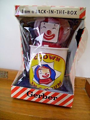 Gerber Clown In A Drum (Jack In A Box) Free Shipping