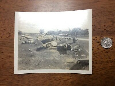 WWII Japanese Mitsubishi A6M Zero Airplanes Photo Japan Navy Fighter Planes