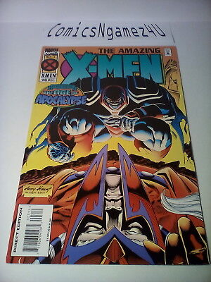 The Amazing X-MEN #3 May 1995 Comic Book VF Marvel Comics