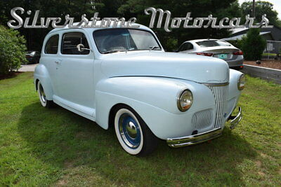 1941 Ford Sedan  1941 Blue Street Rod Automatic Front Disc Brakes Fast Reliable