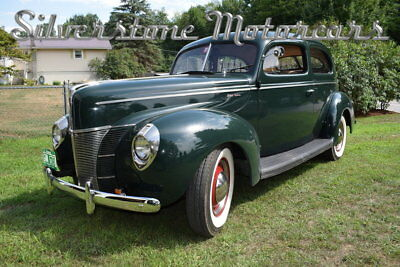 1940 Ford Sedan  1940 Green Restored Flathead V8 3 Speed Manual Great Condition