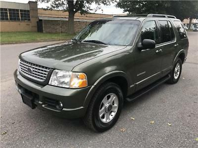 2002 Explorer Limited 2002 Ford Explorer Limited 4X4 3rd Row Only 64k No Reserve