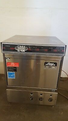 CMA Dishmachines L-1X, 30 Rack/Hr Undercounter Dishwasher low hours