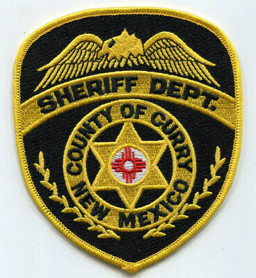 Curry County New Mexico Sheriff Dept Patch // FREE US SHIPPING!