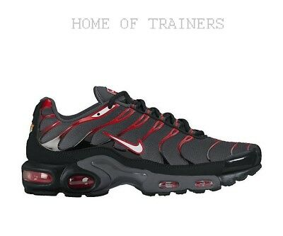 the latest 070ce 681d8 Nike Air Max Plus Tuned 1 TN Noir Rouge Gris Blanc Homme Baskets ( Pti )