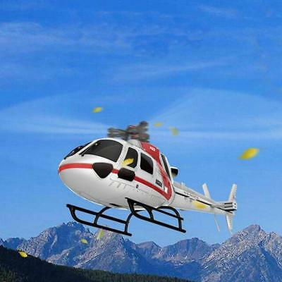 XK K123 6CH Brushless AS350 Scale RC Helicopter RTF Mode 2 For Kids Children