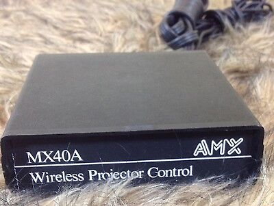 Wireless Slide Projector Wireless Slide Projector Control Unit MX40A AMX