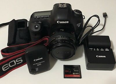 Canon EOS 5D Mark iii W/ 50mm Lens + GPS