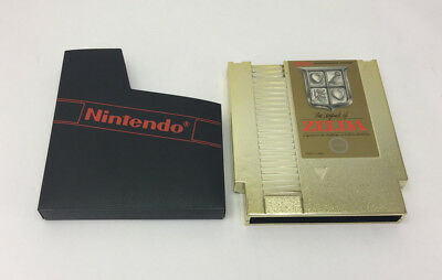 """""""The Legend of Zelda"""" Gold Nintendo NES Game Very Good Condition Vintage Gaming"""
