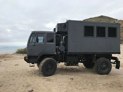 Offroad 4x4 RV, Expeditionary Vehicle, Backcountry Hunting / Fishing Vehicle