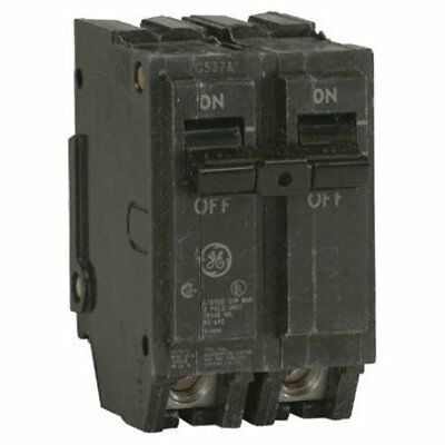 GE THQL2150 Circuit Breaker, 2-Pole 50-Amp Thick Series
