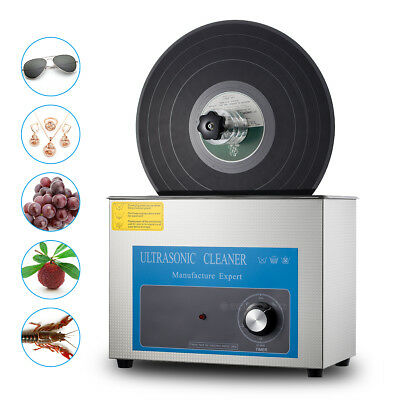 Ultraschallreiniger Ultrasonic Cleaner for LP Disc Vinyl Record Liftable Washing