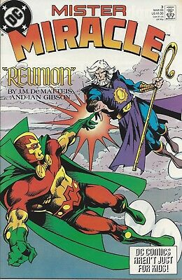 Mister Miracle #3. Mar 1989. DC. VF-.
