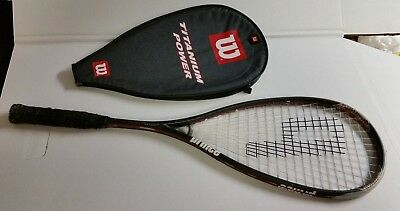 Lot of 5 Assorted Tennis Rackets Racquets Wilson Prince Head Used