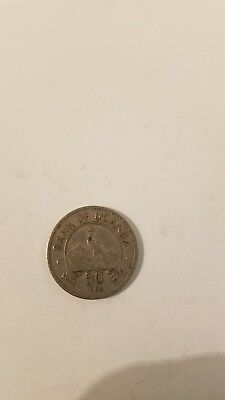 1966 Bank Of Uganda Fifty Cents Coin!!!!
