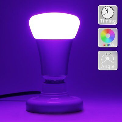 LED Bulb with IR Remote Control 10W E27 Base Night Light DBTech Dimmable RGB