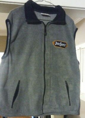 Jose Cuervo Tequila embroidered Patch (XL) Sleeveless Full Zip Poly Sports Vest