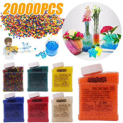 20000Pcs Home Crystal Pearls Jelly Gel Bead Water Balls Orbeez Toys Gift Decor