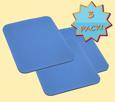 Mouse Pad PC Laptop  3-Pack  Computer Notebook Gaming Mat Soft Thick comfort
