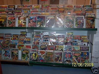 Lot Of 14 Old Comics Books From Long Box Start Yr Collection