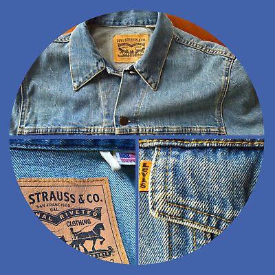 Levis Retro Jeansjacke Original USA