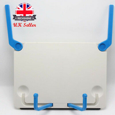 1Pcs Portable Foldable sheet music stands Book Document Stand Reading Desk UK