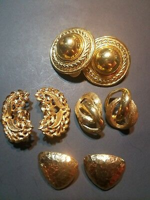 Vintage jewelry signed Emmons and Napier .lot Earrings
