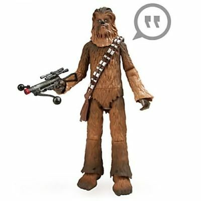 "15"" Star Wars TALKING CHEWBACCA Chewie Light-up Action Figure Disney Store Doll"