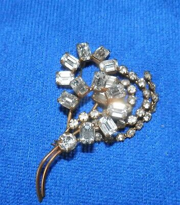 Costume Jewellery Vintage Broaches Pin Brooches