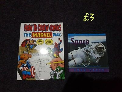 Comic Drawing Book Marvel