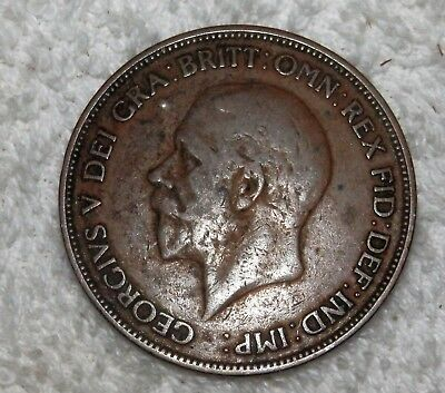 George V 1936 ONE PENNY Coin