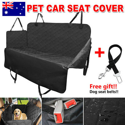 4-Layer Pet Car Back Seat Cover Cat Dog Hammock Protector Mat Waterproof Blanket