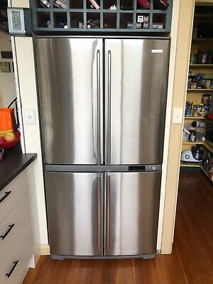Electrolux EQE6007SB 600L French Door Fridge. Stainless steel. 890 W x 1720 H