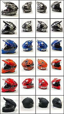 Viper RX-v288 Adventure Enduro Motorcycle Motorbike Helmet Visor Clear Genuine Replacement Part