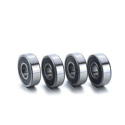 10Pc Deep Grooved Miniature Ball Bearings 6000-2RS 26*10*8mm