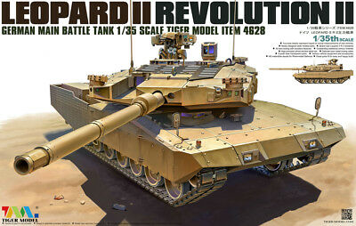 Tiger Model 1/35 4628 German MBT Leopard II Revolution-II