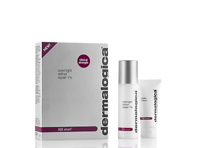Dermalogica Age Smart overnight retinol repair, 1%, 25ml + buffer cream, 15ml