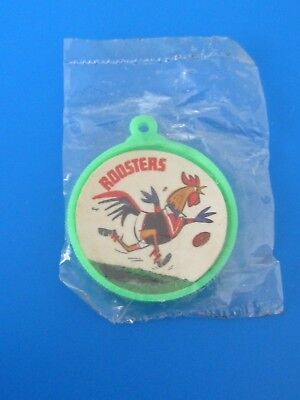 1968 Roosters R&l Smith Chips Pin Badge {Very Rare} Mint Rugby League